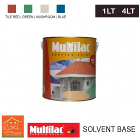 Multilac Roofing Paint – Solvent based