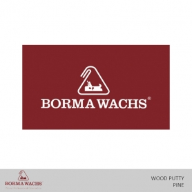Borma Wachs WB Wood Putty Pine/Teak/Cherry/Oak/Jackwood/Med.Walnut/Mahogany/Dark Walnut