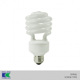 Kelani CFL High Power Bulb Spiral Screw Type