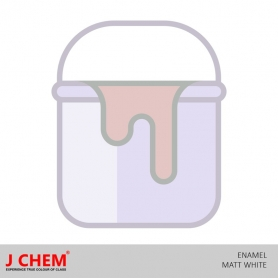 J Chem Enamel Matt White (4LT)