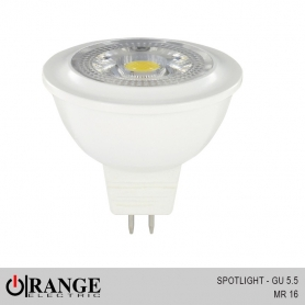 Orange Spotlight GU 5.5 MR 16 - DC