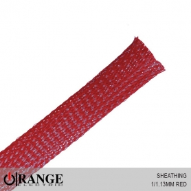 Orange Sheathing Red 50M