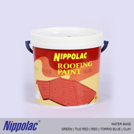 Nippolac Roofing Paint (Water Base) Colors