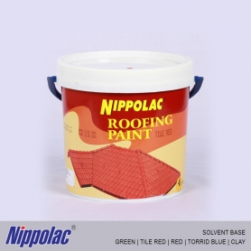 Nippolac Roofing Paint (Solvent Base) Colors