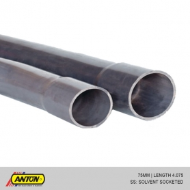 Anton uPVC Pressure Pipes (PE / SS) 75MM