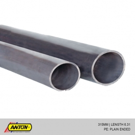 Anton uPVC Pressure Pipes (PE / SS) 315MM