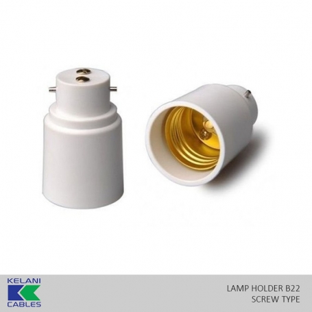 Kelani Lamp Holder B22 (Pin Type)