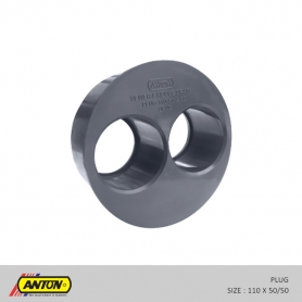 Anton Drainage Fittings - Plug 110 50/50
