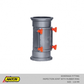 Anton Sewerage Fittings - SW/INS  JNT 110 RR