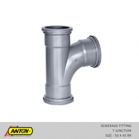 Anton Sewerage Fittings - SW/T JUN. 50 x 88 RR