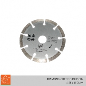 Diamond Cutting Disc Dry (150mm)