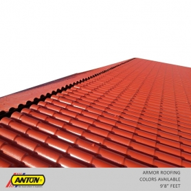 Anton Armor Roofing Sheet (10ft Length) - Colors Available