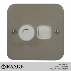 Orange Light Dimmer Mounting - Metal