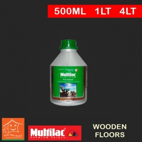 Ital Wood Exterior Water Based 2K Top Coat for Wooden Floors