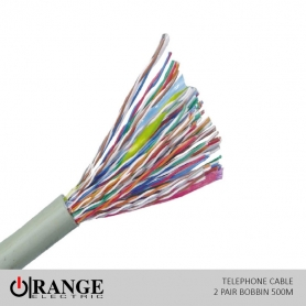Telephone Wire (Cable) 2 Pair Bobbin 500m