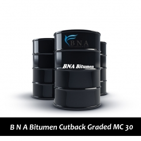 B N A Bitumen Cutback Graded MC 30 - 200L