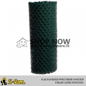 S-Lon Guardian Grade A - Chain Link Fencing - Galvanized and PVC Coated - ( 50mmx 50mm ) - ( 2 in x 2 in )