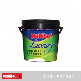 Multilac Luxury Promise Exterior Emulsion Brilliant White