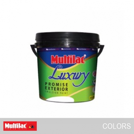 Multilac Luxury Promise Exterior Emulsion Colors