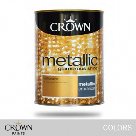 Metallic Emulsion (For Walls & Features) Colors