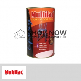 MULTILAC EPOXY FLOOR PAINT - RED / GREEN / GRAY / BROWN /  BLACK
