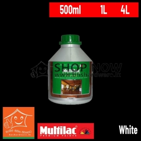 ITAL WOOD EXTERIOR WATER BASED WOOD PRESERVATIVE STAIN - White