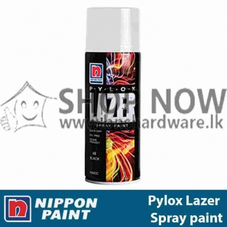 Pylox Lazer Spray Paint - Heat-Resistant-400g