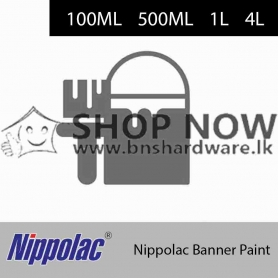 Nippolac Banner Paint (Red/Black/Green/White/Yellow/Blue)