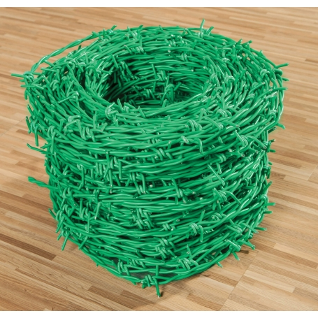 PVC Coated Barbed Wire- Gauge 14