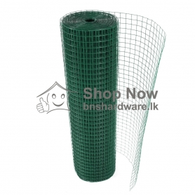 "PVC Coated Welded Mesh G-16 - 11/2"" x 11/2"""