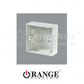 X5 Single Gang Mounting Box-Surface