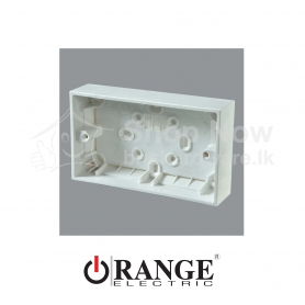 X5 Twin Mounting Box-Surface