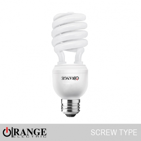 Orange CFL Spiral Screw Type