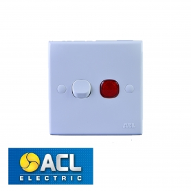 ACL - 20A DOUBLE POLE SWITCH
