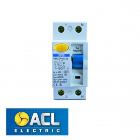 ACL - RCD 40A Double Pole