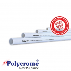 "Polycrome Medium Duty Conduit Pipe 25mm (1"")"