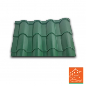 Zinc Aluminium Tile Roofing Sheets 1 Linear feet (1'x2.5')
