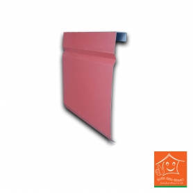Zinc Aluminium Barge Flashing - (1 Ft)