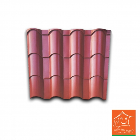Zinc Aluminium Tile Roofing Sheets 1 Linear feet(1'x2.5')