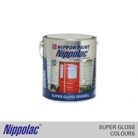 Nippolac Enamel Super Gloss White & Colours (500ML)