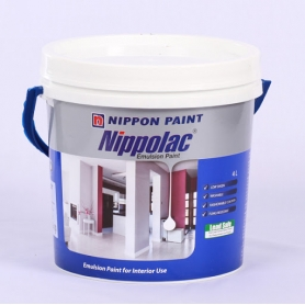 Nippolac Vinyl Matt Emulsion - White & Colors 4L  (Colour pack 02)
