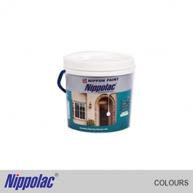 Nippolac Weather Proof 10L White & Colours (Colour pack 1)