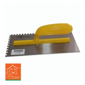Plastering Trowel With Teeth