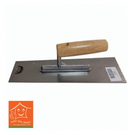 Plastering Trowel - Wood Handle (Curve Type)