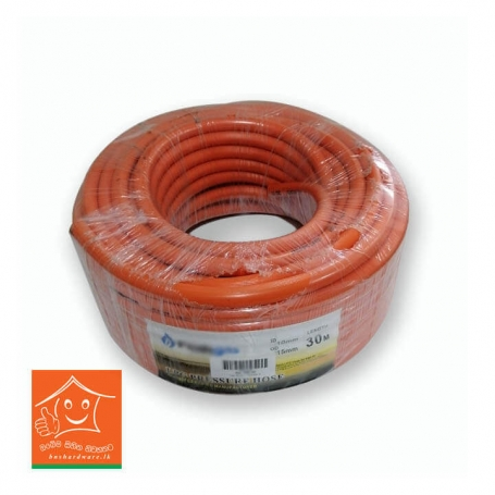 Gas Hose (Orange - 3 Layers) 3/8 x 1M