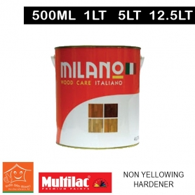 Milano Pu Top Coat Lacquer Non Yellowing Hardener