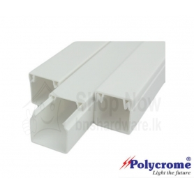 Polycrome Pvc Cable Trunking  20x12.5mm