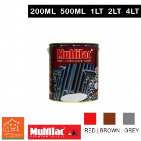 Multilac Anti Corrosive Red / Brown / Grey