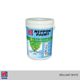 Nippon 3 in 1 Medifresh Brilliant White (Interior Use)