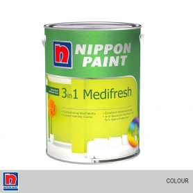 Nippon 3 in 1 Medifresh Colors (Interior Use)